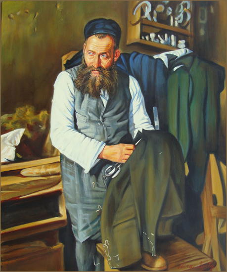The Tailor (50.8x61.0 cm)