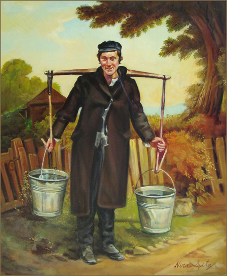 Water Carrier (50.8x61.0 cm)